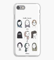 Muslim Women Are All Sisters iPhone Case/Skin