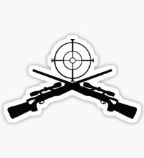 sniper target rifle Sticker