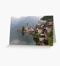 Hallstatt Greeting Card