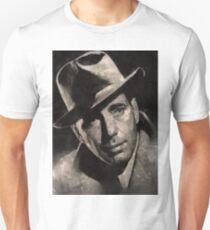 Humphrey Bogart Vintage Hollywood Actor Unisex T-Shirt