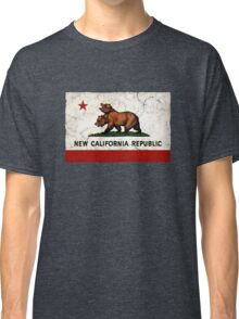 New California Republic Flag Classic T-Shirt