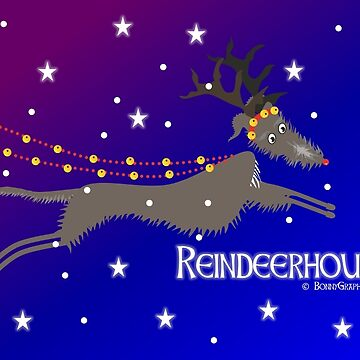 Reindeerhound designed by Bonny Graphics by BonnyGraphics