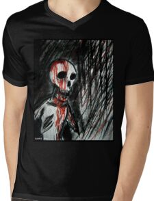Zombie Mens V-Neck T-Shirt