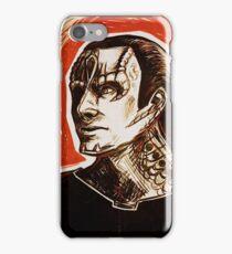 Elim Garak Red iPhone Case/Skin