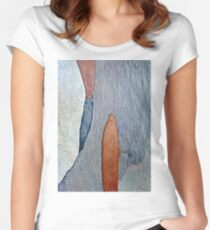 Ink Brush Women's Fitted Scoop T-Shirt