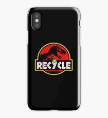 Green dinosaurs iPhone Case/Skin