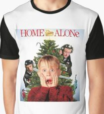 Home Alone Christmas Movie Graphic T-Shirt