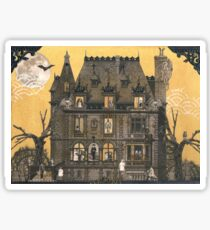 Moribund Manor - Haunted House Sticker