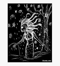 Death Rock Medusa Photographic Print