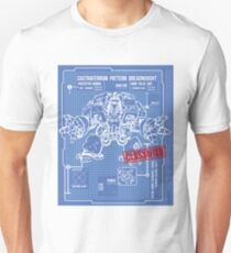 BLUEPRINT TEE - DREADNOUGHT 40K 1 Unisex T-Shirt