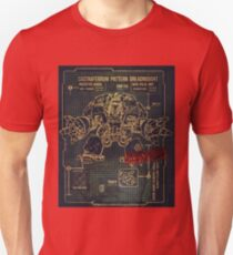 BLUEPRINT TEE - DREADNOUGHT 40K 1G Unisex T-Shirt