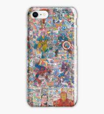 Superheroes Galore iPhone Case/Skin