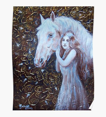 White Horse Beauty III Poster