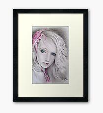 My Pink Rose Framed Print