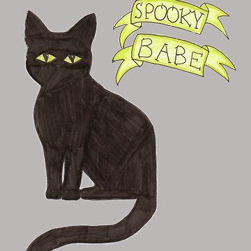Spooky Babe by iwilltakethebow