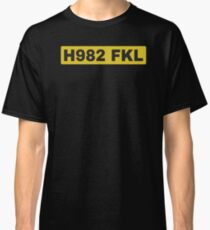 H982 FKL License plate Classic T-Shirt