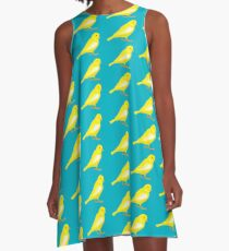 little yellow canary A-Line Dress