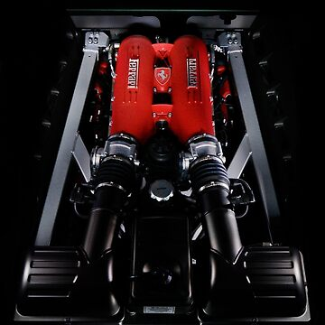 black Ferrari F430 red Engine by FrankKletschkus