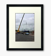 Moving Framed Print