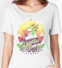 Polly Wants Some Good Vibes! Women's Relaxed Fit T-Shirt