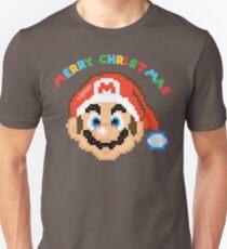 Super Mario Weihnachten Unisex T-Shirt