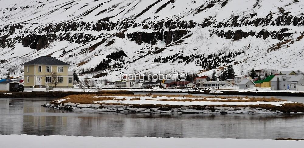 seyðisfjörður, iceland by gary roberts