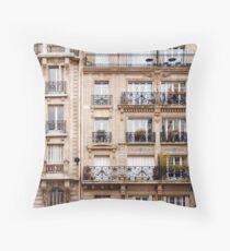 Traditionelle französische Architektur Dekokissen