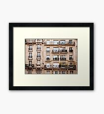 Traditional French Architecture Framed Print