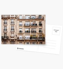 Traditional French Architecture Postcards