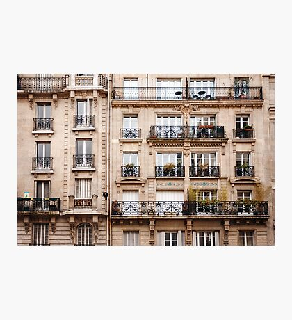 Traditional French Architecture Photographic Print
