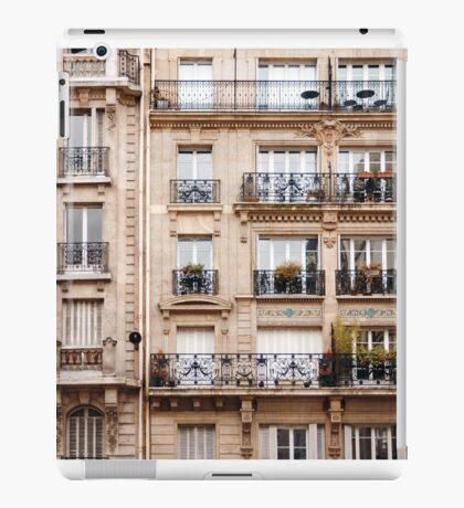 Traditional French Architecture iPad Case/Skin