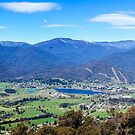 Mount Beauty Panorama by Mark  Lucey