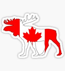 Canada Moose Sticker