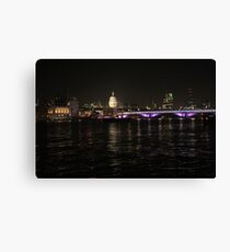 London St. Pauls Cathedral Canvas Print