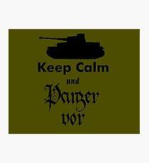 Girls Und Panzer - Panzor Vor! Photographic Print
