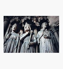 Gothic Background with Ancient Kings  Photographic Print