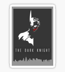 Batman/Joker - The Dark Knight Sticker
