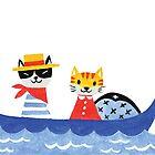 Cat gondola by HuiSkipp
