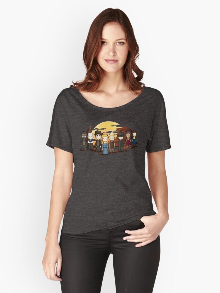 West world chibi Women's Relaxed Fit T-Shirt Front