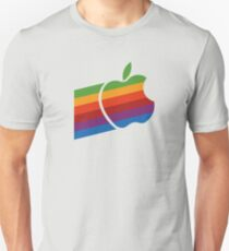 Apple Retro Logo Unisex T-Shirt