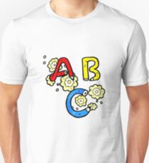 cartoon ABC letters T-Shirt