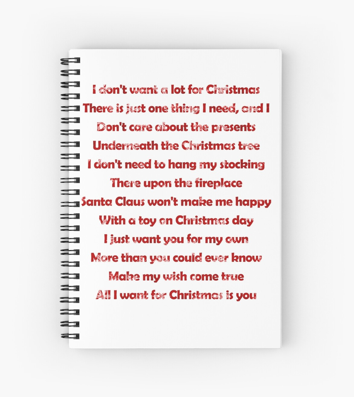 Mariah Carey - All I Want For Christmas Is You Lyrics\