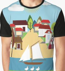 Austrian village Graphic T-Shirt