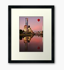 Early morning adventurers Framed Print
