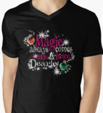 All Magic Comes With a Price Dearie Once Upon a Time  Men's V-Neck T-Shirt