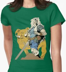 Finn And Jake Womens Fitted T-Shirt