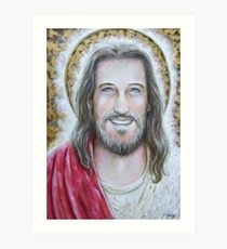 His Blessed Smile Art Print