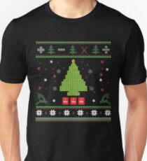 Oh Chemistree, Oh Chemistree! Ugly Christmas Chemistry  Unisex T-Shirt