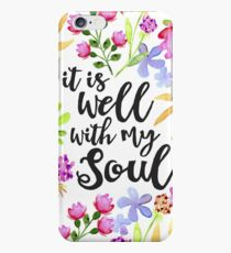 It Is Well With My Soul iPhone 6s Case