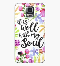It Is Well With My Soul Case/Skin for Samsung Galaxy